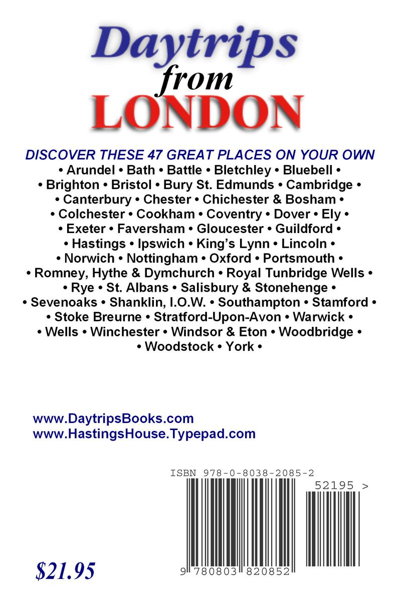 DTFromLondonRearCover